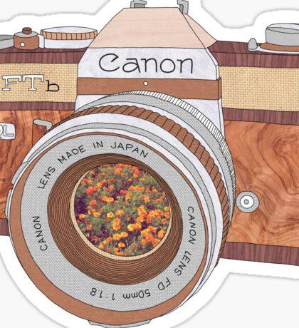 WOOD CAN0N Sticker