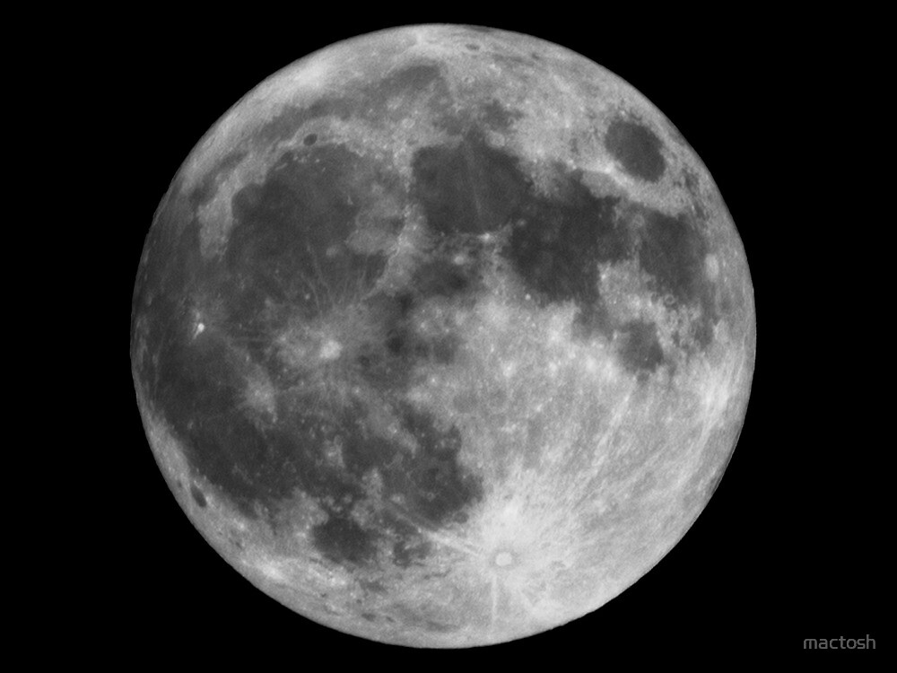 The Super Moon by mactosh