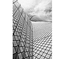 Sydney Opera House Close up Black and White Photographic Print