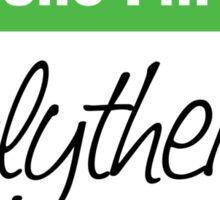 Hello I'm a Slytherin Sticker