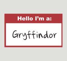 Hello I'm a Gryffindor by Rosalind5