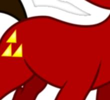 Red Impact Sticker Sticker