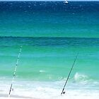 Fishing In Destin by Sharon Woerner