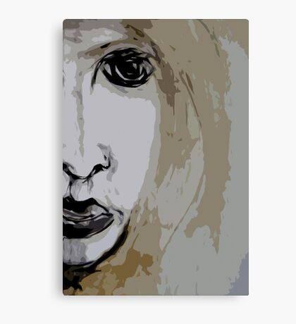 this girl#14... mind set on you Canvas Print