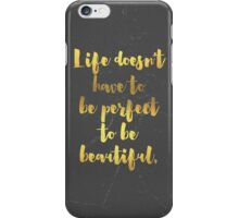 Beautiful Life All-Over iPhone Case/Skin