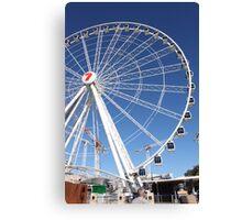 Brisbane Wheel Canvas Print