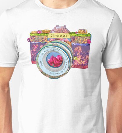 FLORAL CAN0N Unisex T-Shirt