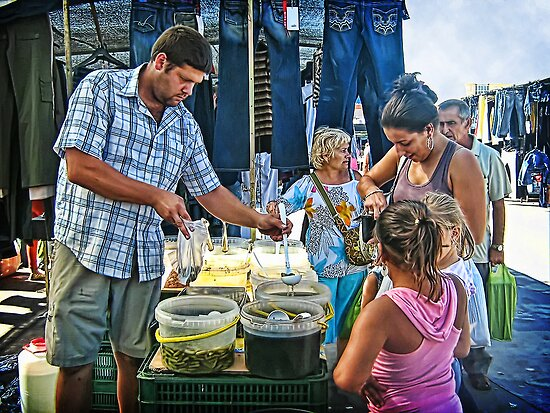 Buying Pickles by Maria  Gonzalez