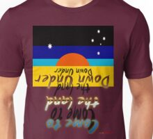 Come To The Land Down Under T-shirt Design Unisex T-Shirt