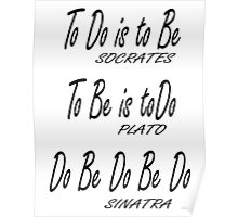 Do be Do be Do, Greek version, Frank Sinatra Lyrics Poster