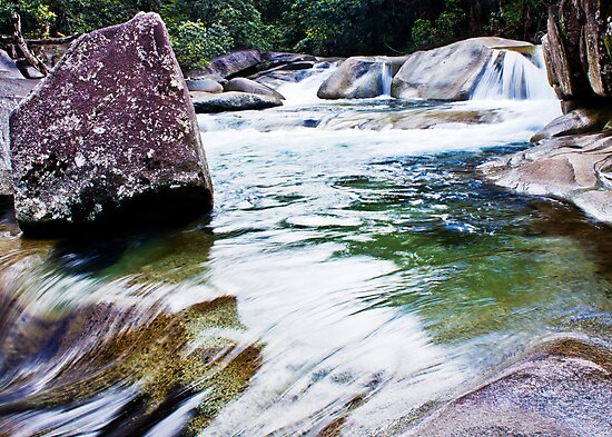 Boulders by Ron  Wilson