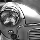 11 Morris Minor in Mono by LooseImages