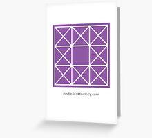 Design 89 Greeting Card