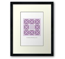 Design 3 Framed Print