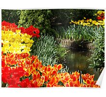 Flower Composition Poster