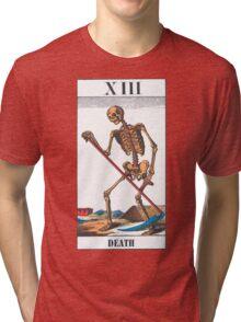 Death Tarot Card Tri-blend T-Shirt