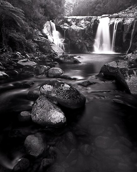"""Halls Falls"" ∞ The Blue Tier, Tasmania - Australia by Jason Asher"