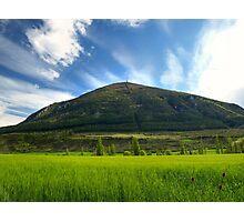 Mount Alaitz Photographic Print