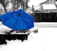 Blue Umbrella by thedustyphoenix