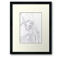 NCR Ranger Veteran Sketch Framed Print