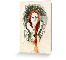 Catelyn Tully Greeting Card