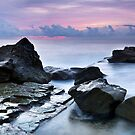 Rocks in the Wash by Mathew Courtney