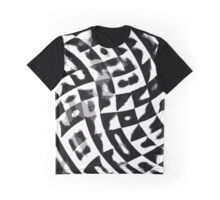 Black&White ornament Graphic T-Shirt