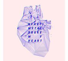 HEAVY METAL HEART Photographic Print