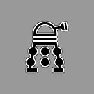Delusional Dalek Symbol and flat color by G-TWO