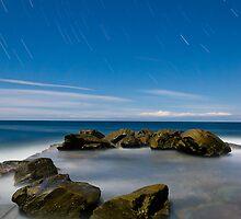 The Cauldron Star Trails by Mathew Courtney