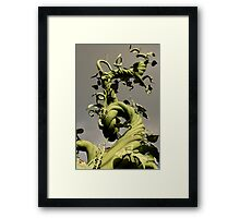 Bean Stalk Framed Print