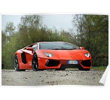 Lamborghini Adventador Poster
