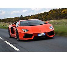 Lamborghini Adventador Photographic Print