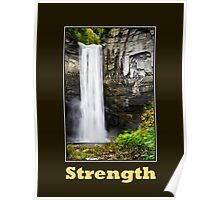 Strength Inspirational Poster Art Poster