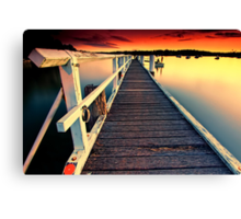 Donnelly Jetty Sunset Canvas Print