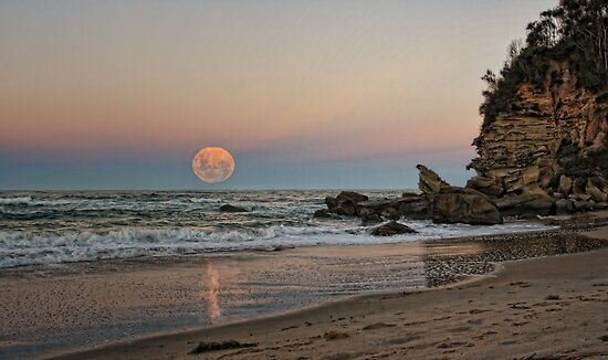 Super-sized Moon by Tam  Locke
