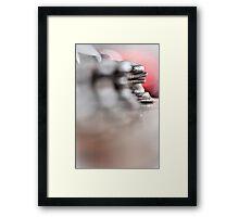 Abstract Bass... Framed Print