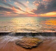Flowing by Glen  Robinson
