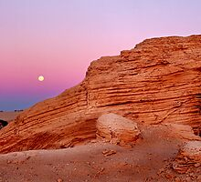 Desert formation  by Paul Mayall