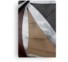 Heavenly Sail Canvas Print