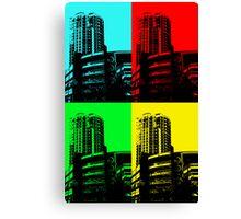 Warhol's Garage Canvas Print