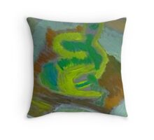Just the colour Throw Pillow