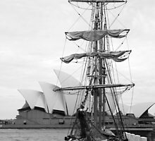 Old Sydney Harbour by rhua5436