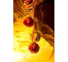 Holiday Bells Photographic Print