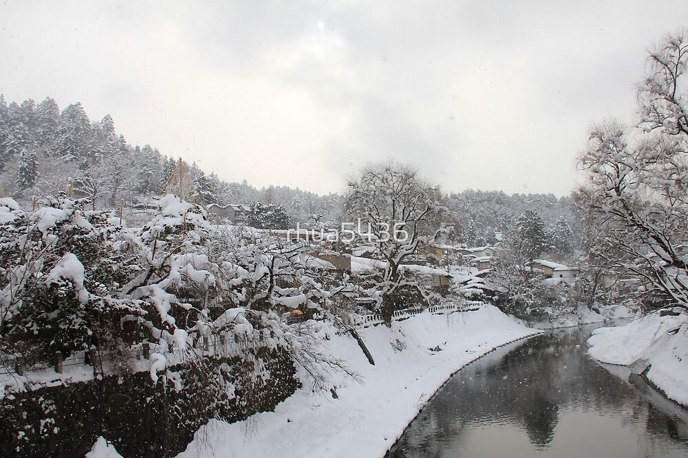 Takayama during Winter by rhua5436