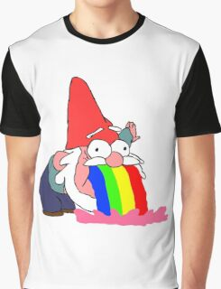 Gnome puking happiness - Gravity Falls Graphic T-Shirt