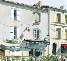 Pub Irlandais, Montbron, France by ian osborne