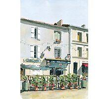 Pub Irlandais, Montbron, France Photographic Print