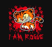 RogueTiger.com - Smirk Red (dark) Unisex T-Shirt