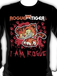 RogueTiger.com - Smirk Logo Red (dark) T-Shirt